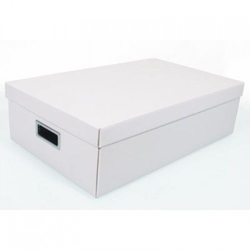 Caixa Organizadora Retangular G Branca