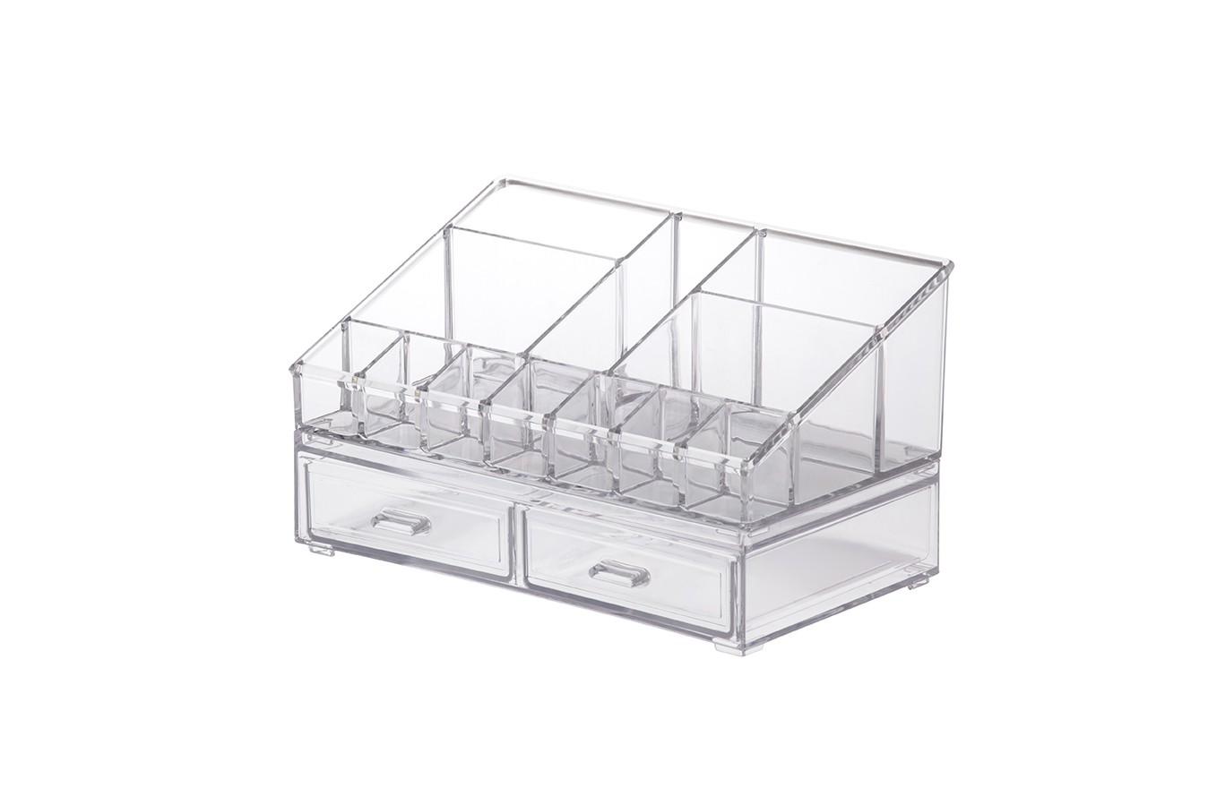 Kit Organizador Cosméticos 22x12,5x12,15cm