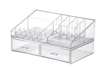 Kit Organizador Cosméticos 32x18,5x15,5cm