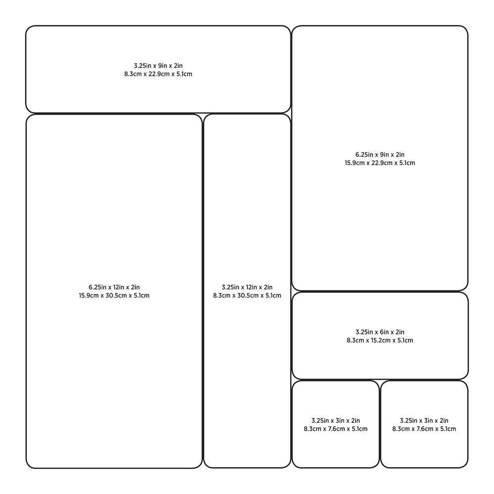 Organizador com Encaixe 7,6x15cm