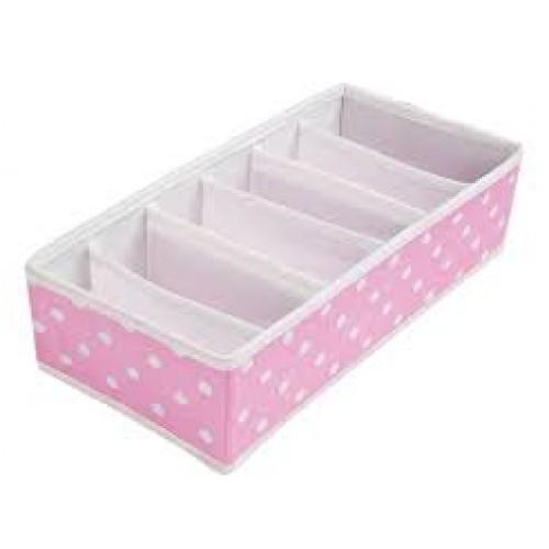 Organizador de Peças Íntimas - Sutiã - Pink