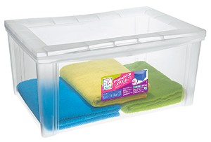 Organizador Plástico Largo Alto 65L