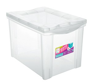 Organizador Plástico Médio Alto 30L