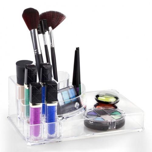Organizador Porta Maquiagem Grande Incolor