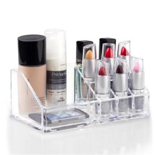 Organizador Porta Maquiagem Pequeno Incolor