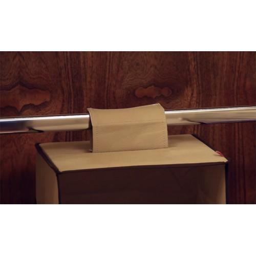 Organizador Vertical Em Tecido Para Closet - 3 Nichos