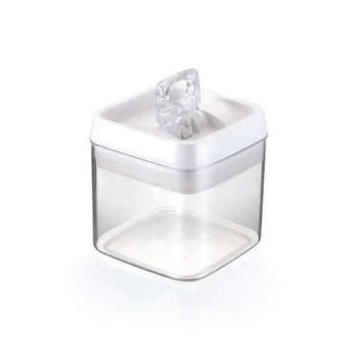 Pote Hermético Crystal Quadrado 1,1L