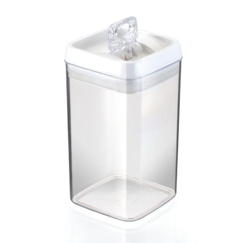 Pote Hermético Crystal Quadrado 2,3L