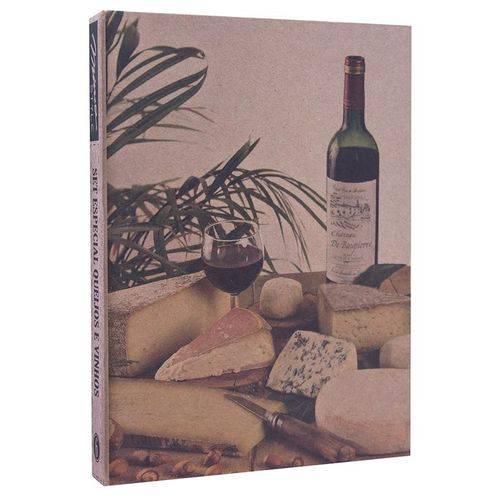Queijos e Vinhos 4 peças