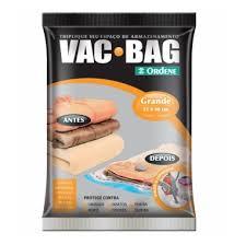 Saco Organizador a Vácuo Vac Bag - Grande