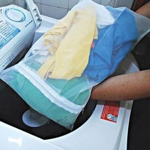 Saco para Lavar Roupas Delicadas M