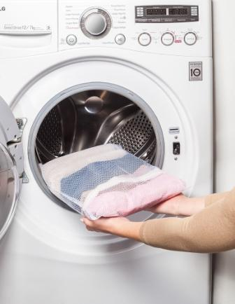 Saco Para Lavar Roupas Delicadas - P