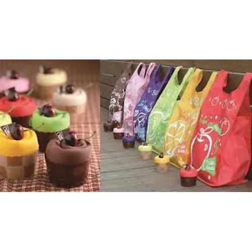 Sacola Ecológica Retornável Cupcake