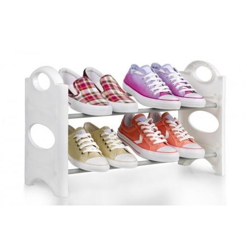 Sapateira Empilhável e Desmontável - Até 6 Sapatos