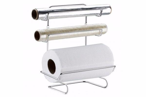 Suporte para Rolo Papel Toalha/Aluminio/Pvc - Cromado
