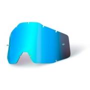 Lente 100%  RC2 / AC2 / ST2 Espelhada Azul