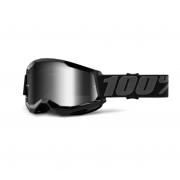 Óculos 100% Strata 2 Espelhado Black