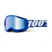Óculos 100% Strata 2 Espelhado Blue
