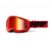 Óculos 100% Strata 2 Espelhado Red