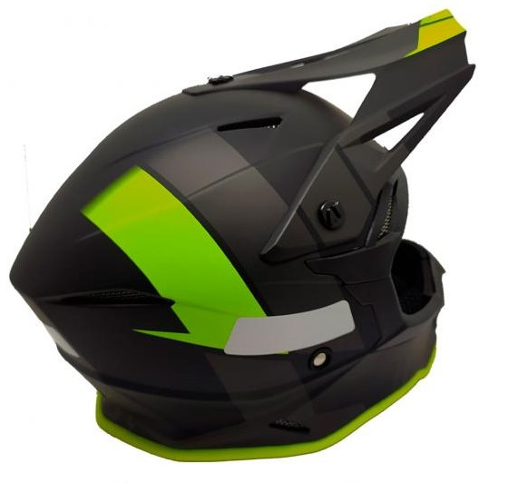 Capacete ASW Fusion 2.0 Seecker  - HP Race Off Road