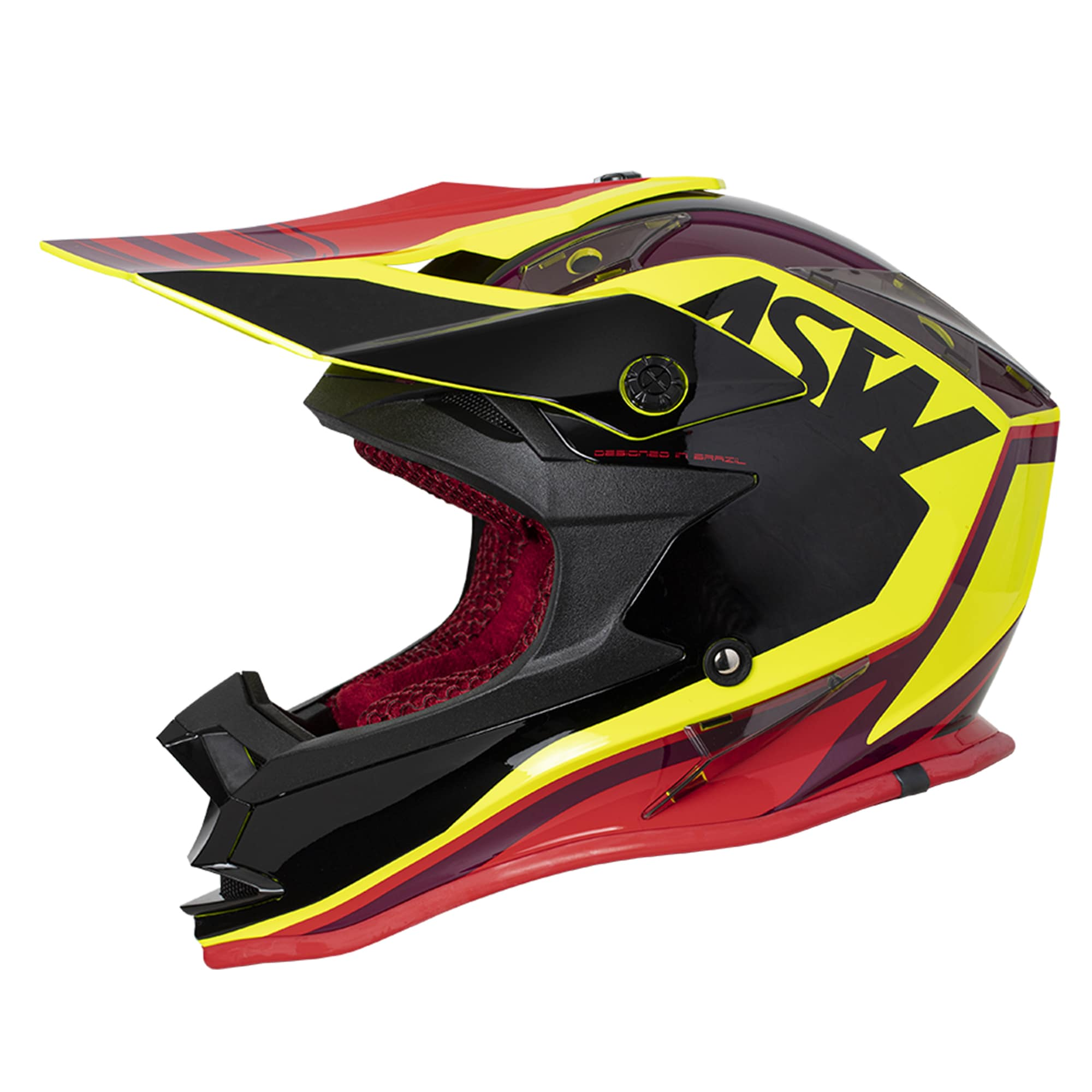 Capacete ASW Fusion Blast 2020  - HP Race Off Road