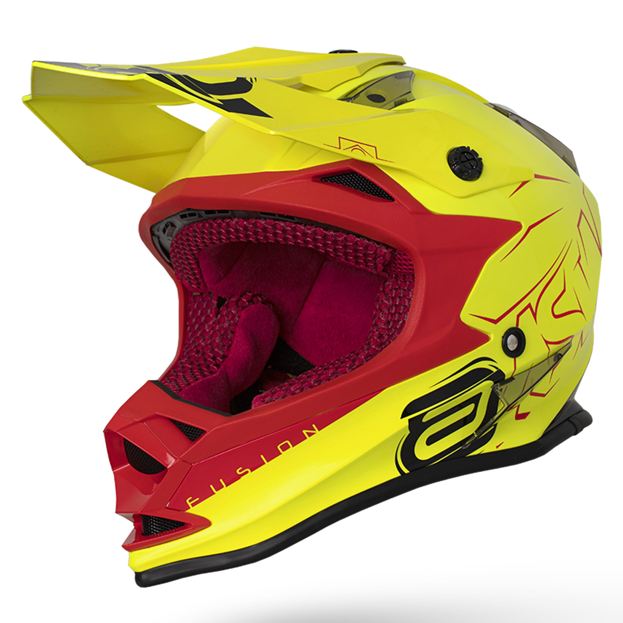 Capacete ASW Fusion Sharp 2020  - HP Race Off Road