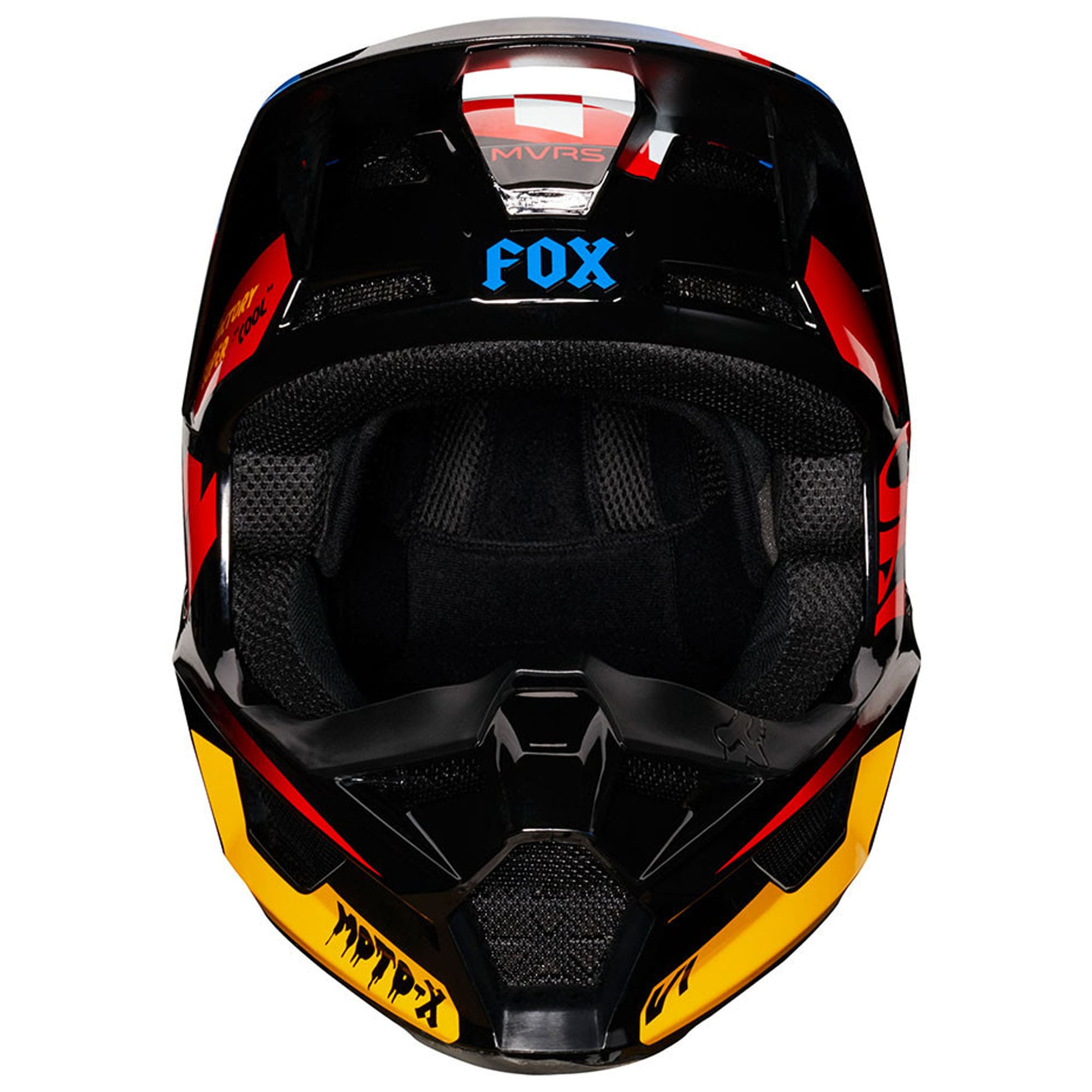 Capacete Fox V1 MVRS Czar Juvenil  - HP Race Off Road