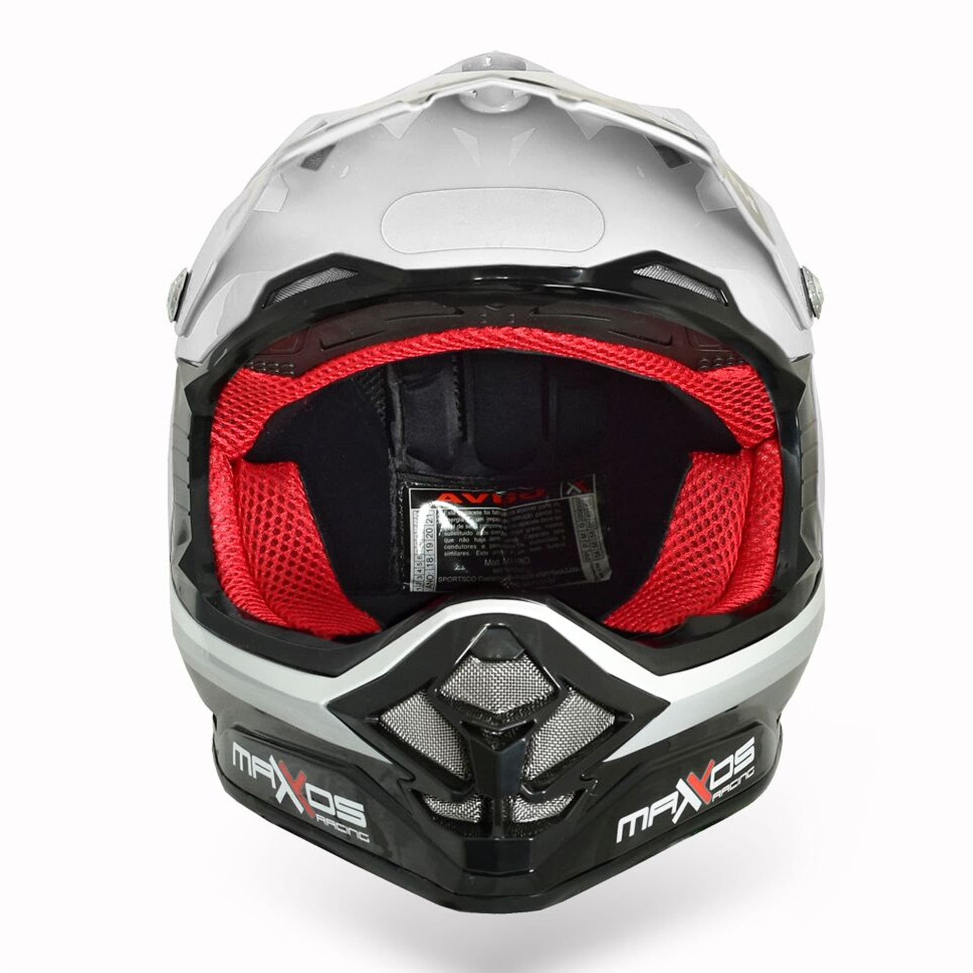 Capacete Mattos Racing MX Pro Strike  - HP Race Off Road