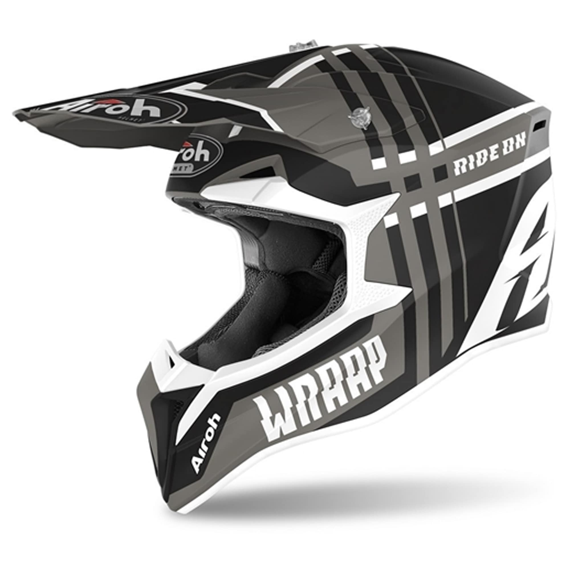 Capacete Airoh Wraap  - HP Race Off Road