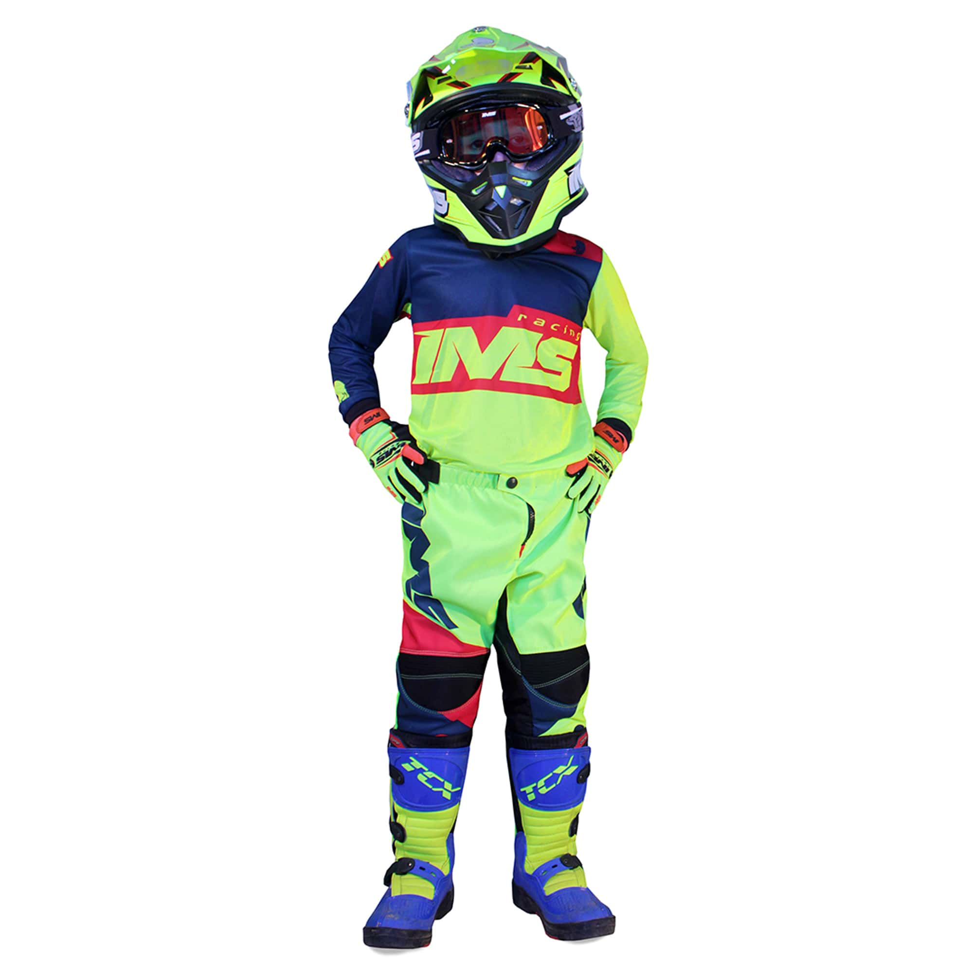 Conjunto IMS Army Infantil  - HP Race Off Road
