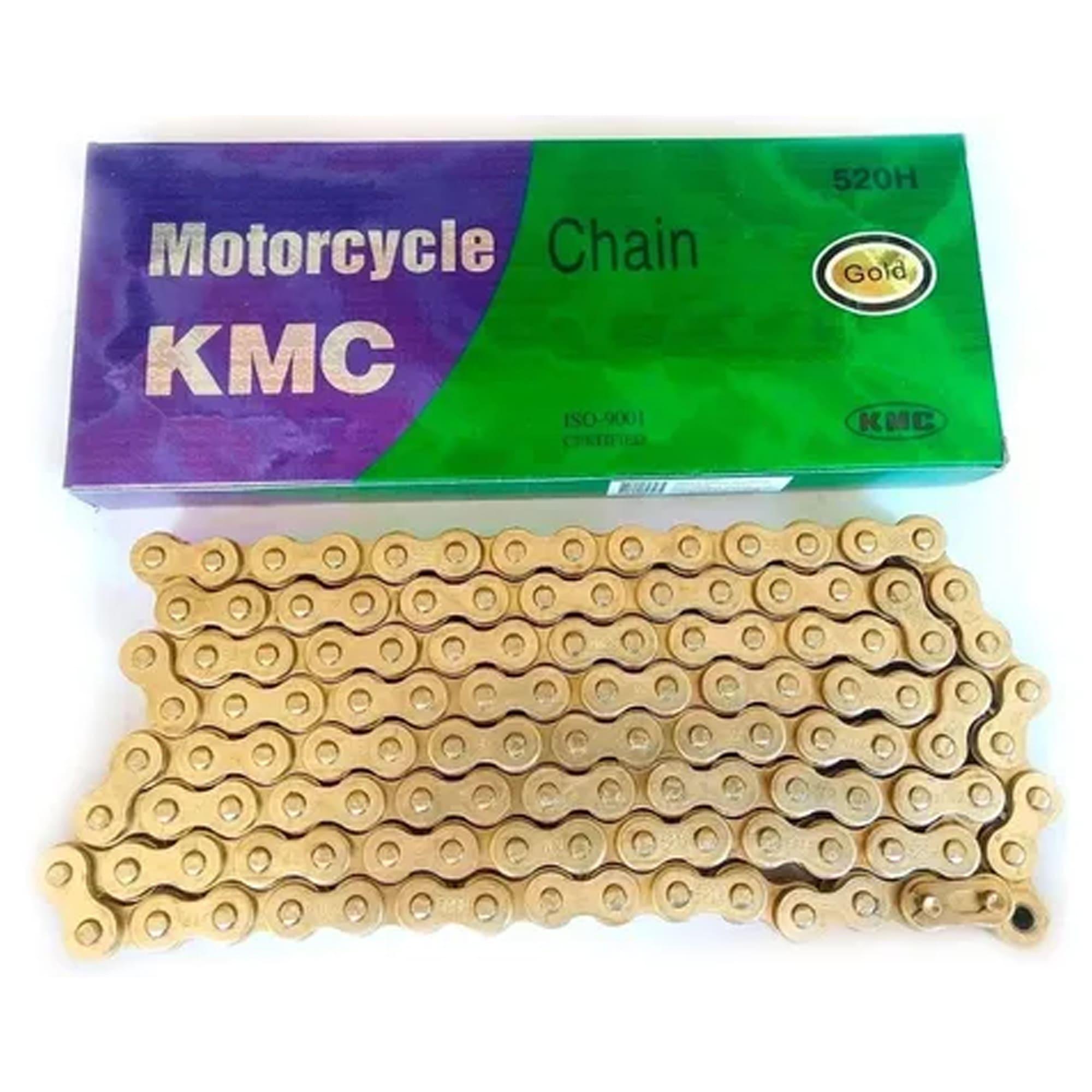 Corrente KMC 520 X 120 (Sem Retentor) - GOLD  - HP Race Off Road