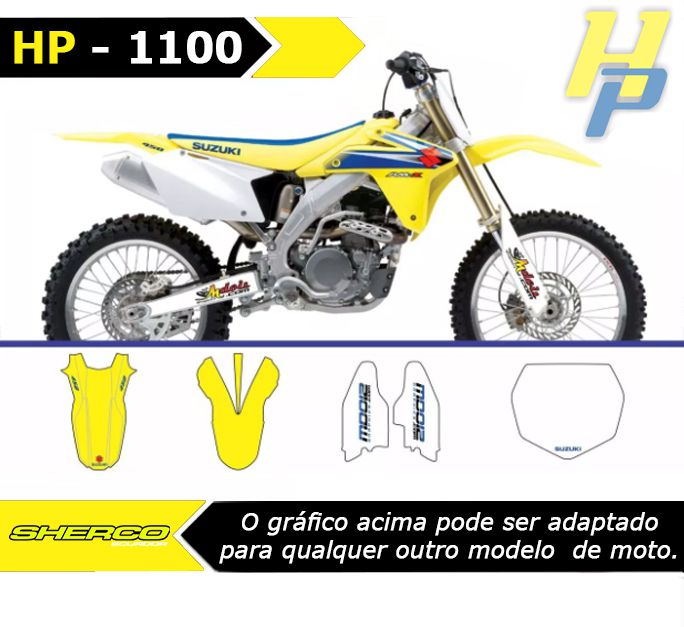 Kit de Adesivos  - HP Race Off Road