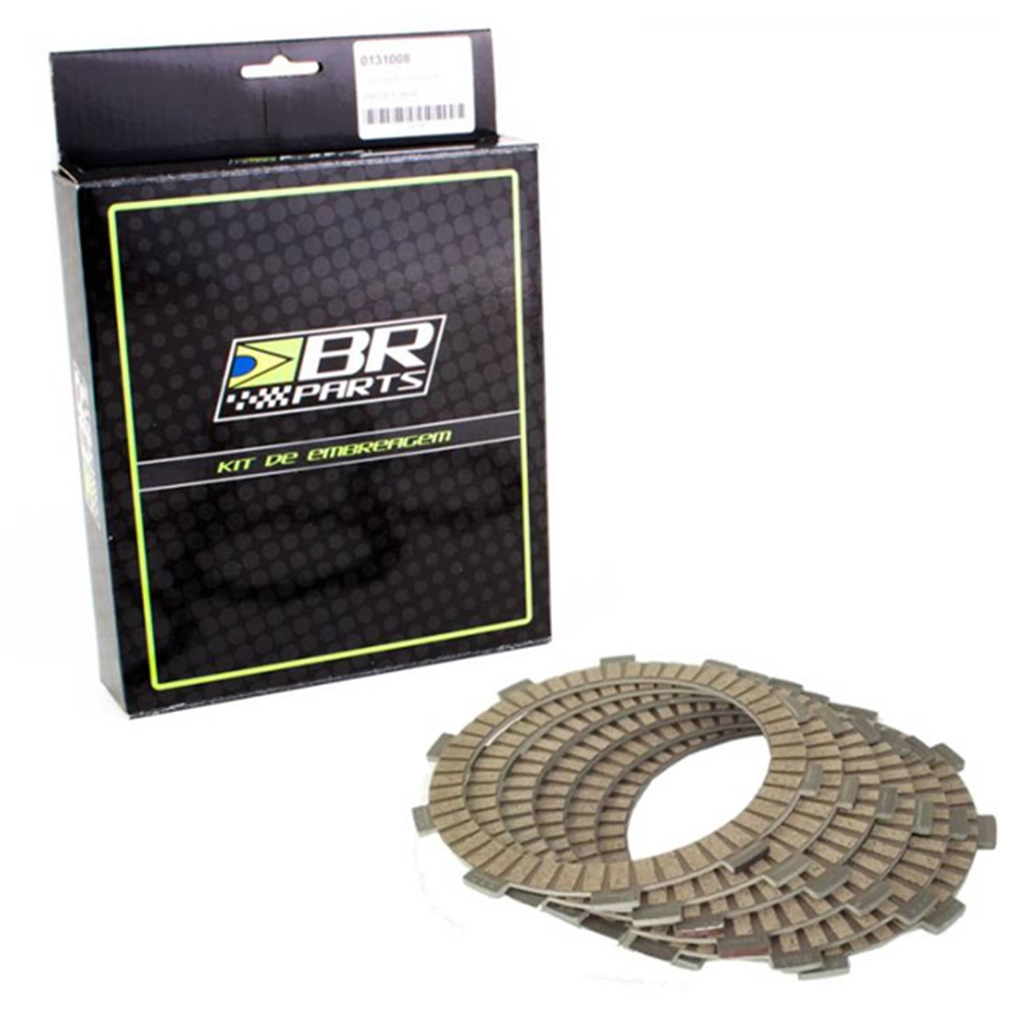 Kit de Disco de Embreagem + Separadores BR Parts KXF 250 06/20 e RMZ 250 04/12  - HP Race Off Road