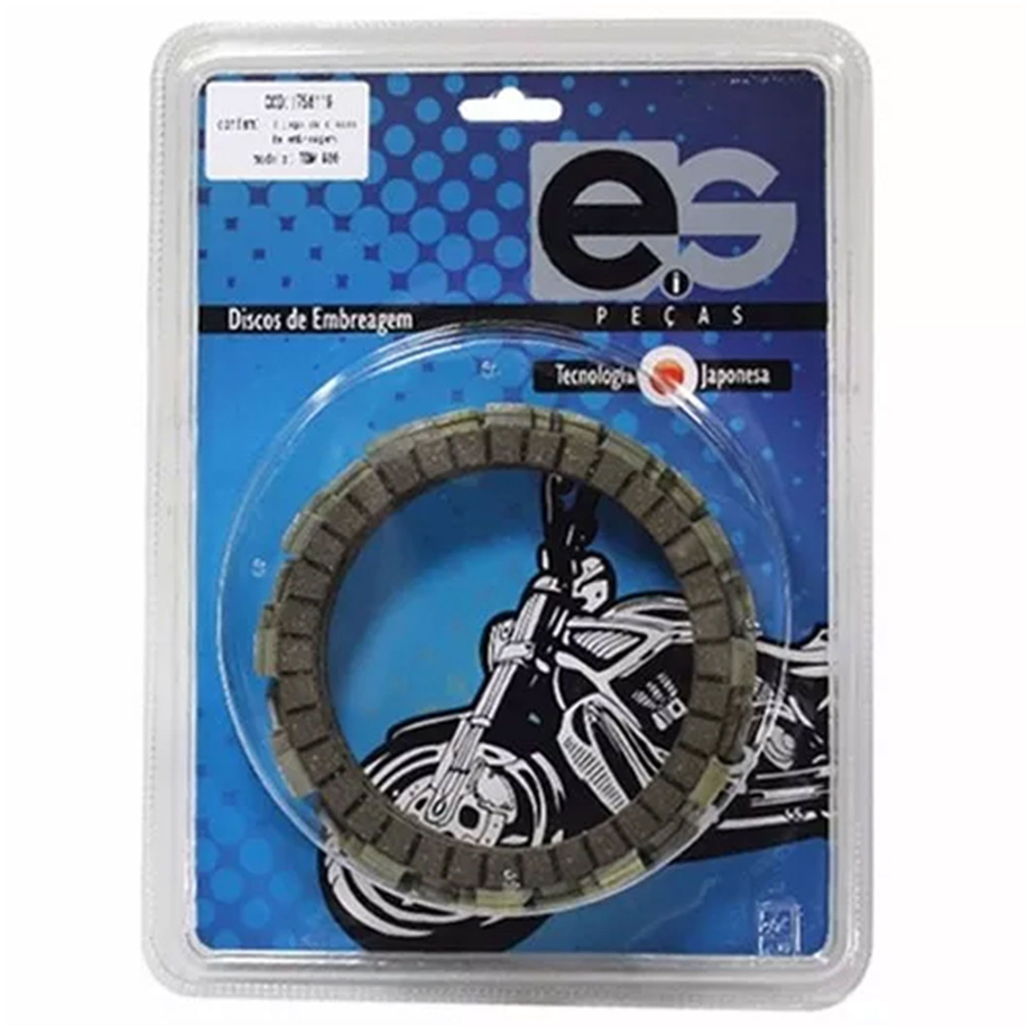 Kit de Separadores de Embreagem EIS YZ 125 93/08  - HP Race Off Road