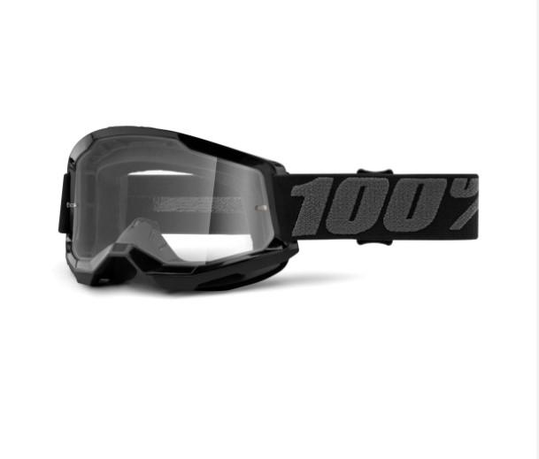 Óculos 100% Strata 2 Black  - HP Race Off Road