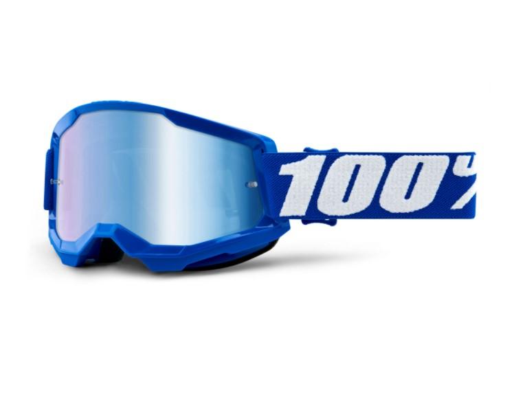 Óculos 100% Strata 2 Espelhado Blue  - HP Race Off Road