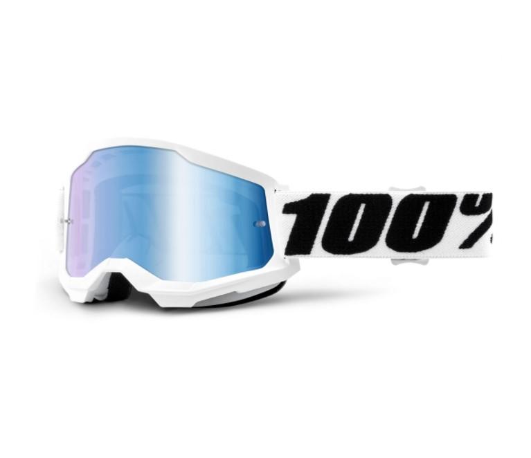Óculos 100% Strata 2 Espelhado Everest   - HP Race Off Road