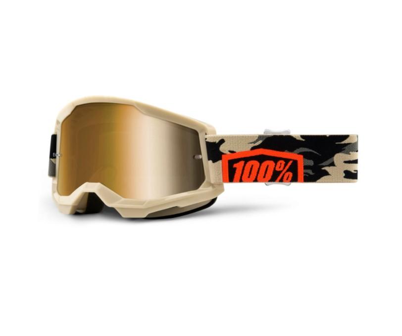 Óculos 100% Strata 2 Espelhado Kombat  - HP Race Off Road