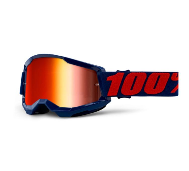 Óculos 100% Strata 2 Espelhado Masego  - HP Race Off Road