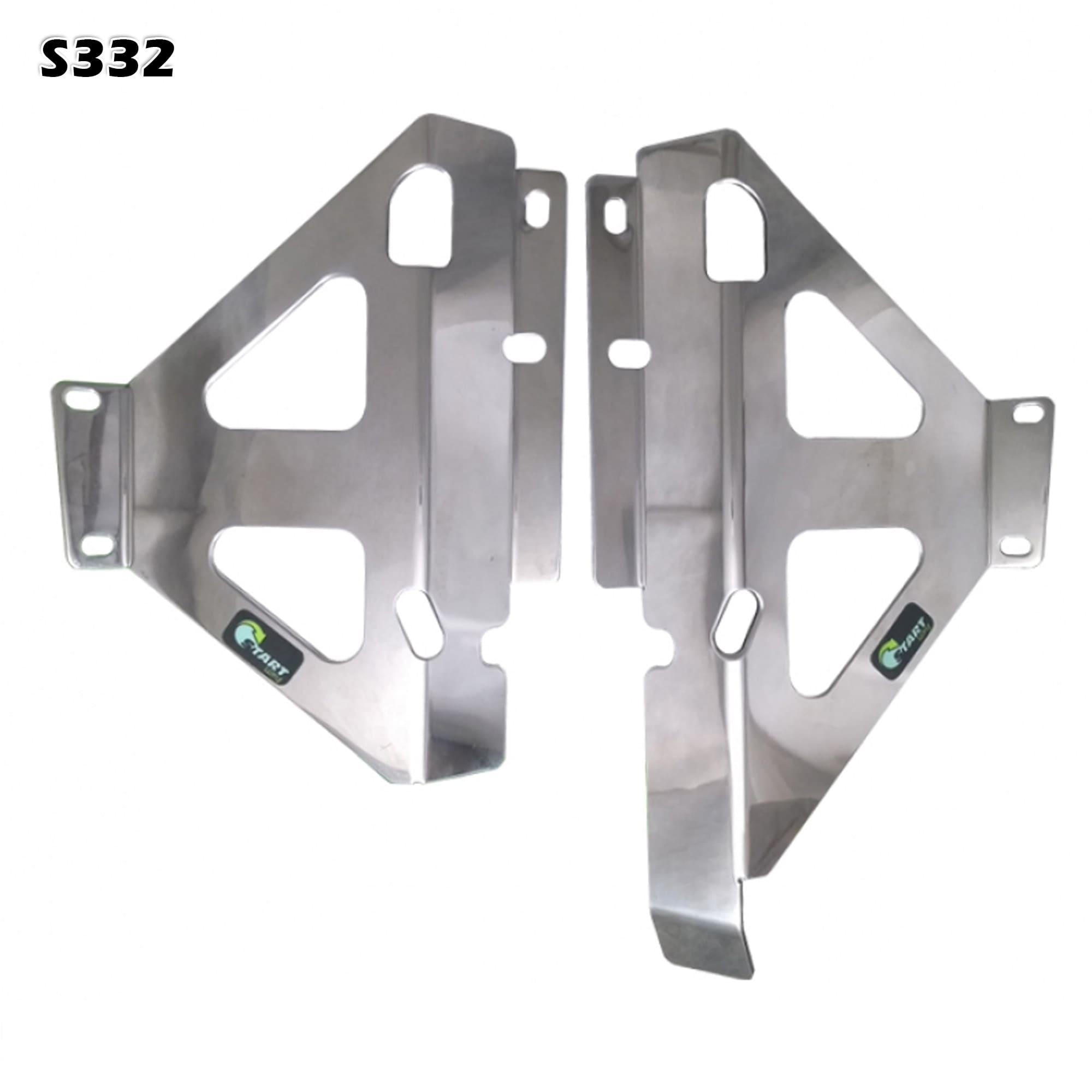 Protetor de Radiador MX Start (Alumínio)  - HP Race Off Road