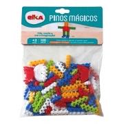 BRINQUEDO PARA MONTAR PINOS MAGICOS 100 PECAS