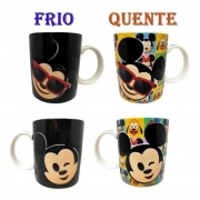 Caneca Magic Mickey e Minnie Emoji 300 Ml