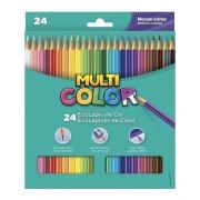 Lápis De Cor Faber Castell Multi Color Estojo C/ 24 Cores