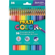 Lápis De Cor Faber Castell Multi Color Estojo C/ 36 Cores