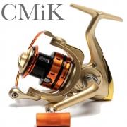 Molinete De Pesca Cmik Mr4000 Carretel Em Alumínio 5 Rolamentos