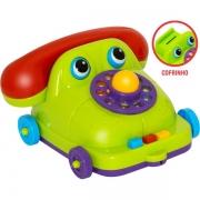 Telefone Maxphone Vira Cofrinho Mercotoys