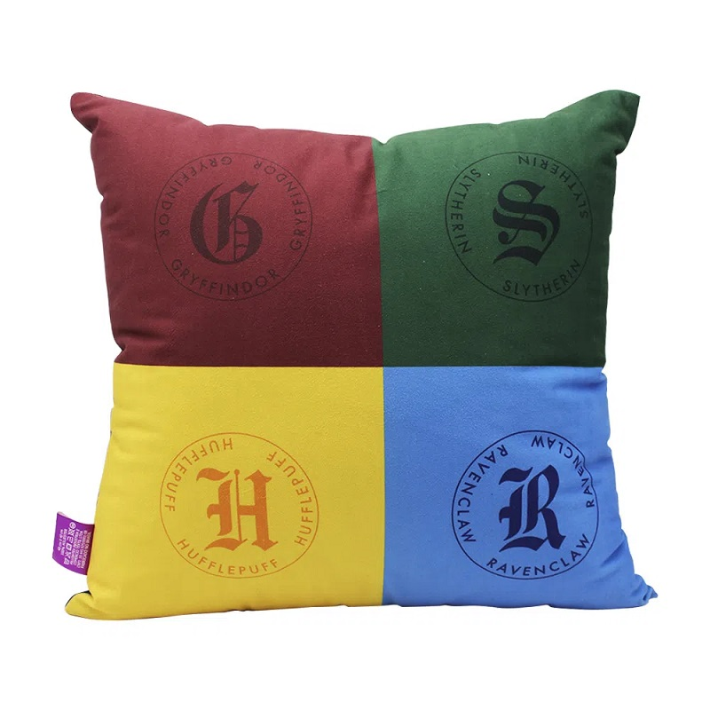 Almofada veludo Harry Potter Hogwarts 40 x 40
