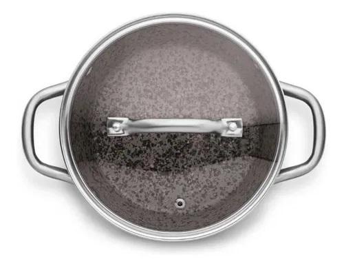 Caçarola Granito 20cm Gourmet Forno e Fogão 2,5 Litros - Mta