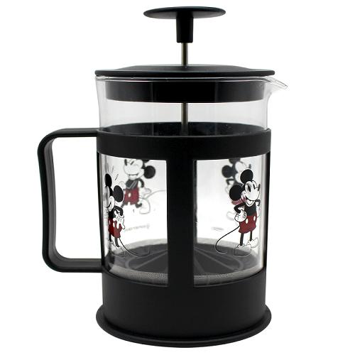 Cafeteira de Vidro Francesa Mickey 600 Ml