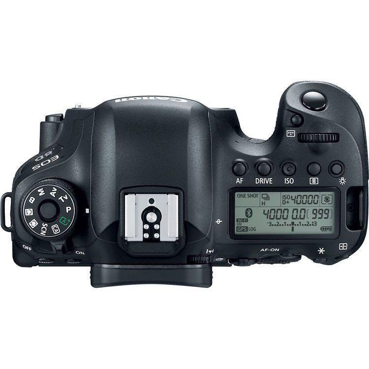 Câmera Canon EOS 6d Mark II  Full HD, Wi-Fi Corpo